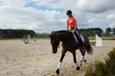 Sunny days and happy ponies, Aiken 2018